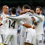 DESCANSO: Real Madrid 3 – 3 Getafe (@Cristiano, 13', 32', 34' (p); Escudero, 22', D. Castro, 26', Lacen, 42') . http://t.co/CcW0PThFq8