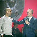 """#Rummenigge: """"What our team has achieved following the World Cup is fantastic. Thank you, #Pep."""" http://t.co/pzR5DqAWi3"""