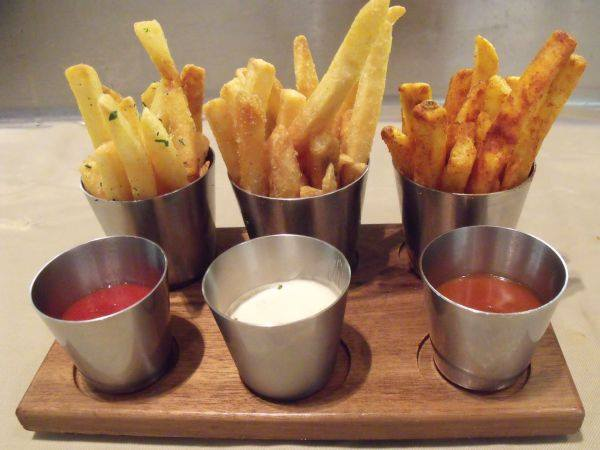 Every Bourbon Steak experience begins with our famous Trio of Duck Fat Fries. http://t.co/2yznvYYH39