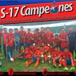 ¡CAMPEONES #SUB17! Municipal se proclamó ganador de la categoría luego de vencer 3-1 a Comunicaciones. #DaleRojo http://t.co/mxOSA0qdFA