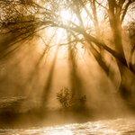 Fog Rays  #Canberra #Sunrise #Visitcanberra #WOW http://t.co/CBoge79Jdf