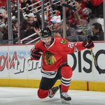 Chicago enters intermission with lead. Brandon Saad scores in final minute of period 1 as Blackhawks lead Ducks, 1-0. http://t.co/RiwAs5pXW9