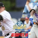 Join us tomorrow for the #SECTourney championship. @VandyBaseball vs. @GatorZoneBB. 3:30 CT. ESPN2. Be there. http://t.co/66rbj220Za
