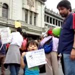 VIDEO | Se cumple un mes de protestas contra la corrupción. http://t.co/qb3SX3dapc @fermagzul_pl http://t.co/yKuZXccNwT