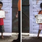 Two of the #Rohingya children rescued at sea that @TonyAbbottMHR told our regional neighbours to just let drown. http://t.co/UaUIvbAGKn