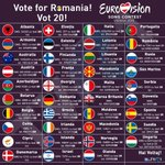 Want to be smart and not be laughed at when you show up for work Monday? Vote for #ROM #Eurovision2015 #ROM #ROM http://t.co/Q2F0f2CFua