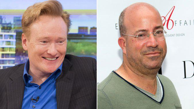 Enemies Conan O'Brien, Jeff Zucker Stun Onlookers, Make Nice at TV Upfronts