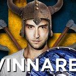 #SWE CONGRATULATIONS @manszelmerlow WINNER OF #Eurovision2015! http://t.co/Q0WVGY4K6u