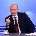 Schon erste Reaktion von Putin auf das Ergebnis ... #RUS #ESC2015 http://t.co/ZG4Y0UPLUG