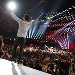 Our amazing winner, @manszelmerlow on stage in Vienna! CONGRATULATIONS AGAIN! #Eurovision http://t.co/xfpPR2o2Wz