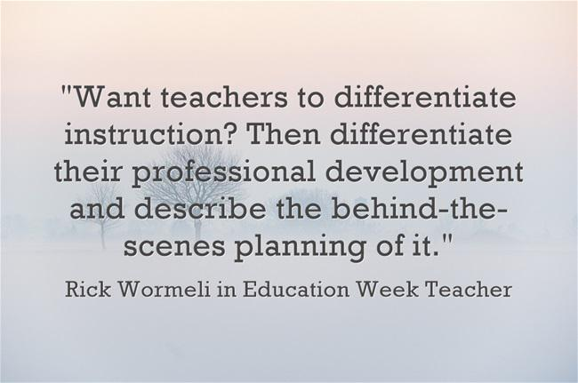 NEW: The Kind of Professional Development We Need at @EdWeekTeacher by @rickwormeli2 http://t.co/GVw1JIUXBy http://t.co/Lu1RmF8fpG