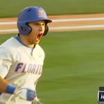 A Mike Rivera solo HR puts @GatorzoneBB up 2-1, the #Gators first lead of the game! http://t.co/tSsT21490K