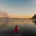 It was a chilly -5 degree paddle in the 'Red Chilli' this morning #Canberra #Visitcanberra #lovelbg http://t.co/oyDmLnrUZP