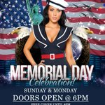 SUNDAY & MONDAY MEMORIAL DAY CELEBRATION - GIRLS, DRINKS and MUSIC #morgantown #strippers #budlight http://t.co/mWLNInV34f