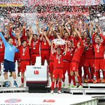 #MiaSanMeister - #FCBayern lifted the German championship for the 25th time on Saturday. http://t.co/Hcslq7azlf