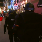Cleveland Police entering E. 4th warehouse district to cheers by some | via @wkyc | http://t.co/hcnoxlzSRu