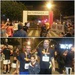 Participei nesta noite de sábado da Corrida Noturna de Blumenau! Mais de 200 corredores percorreram um trajeto de 5km http://t.co/TQwaDg5qYi
