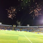 #LaRedFinal Concluyó el partido, Comunicaciones 2-3 Municipal, los cremas con global de 4-3 conquista hexcampeonato http://t.co/8gCBqZ06Vg