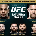 ITs TIME!!!!!! #UFC187 main card starts NOW   LIVE on Pay-Per-View! RT if youre ready! http://t.co/Fo6OCSMLMl