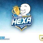 Cremas HEXA campeones! ???????????????????????? http://t.co/hEK8Uk2Poy