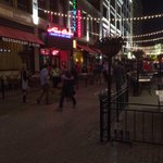 E. 4th is free of demonstrators right now... Flannerys pulled folks off patio, other bizs close early @WKYC http://t.co/3JwHqwtTiY