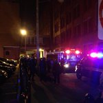 Alleyway between W6 and W9 blocked off with police surrounding area @clevelanddotcom http://t.co/usCfx7IzlQ