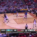 VIDEO: Steph Curry sets the record for most 3's in a single postseason with this DEEP triple http://t.co/VANTKreE1Z http://t.co/QCs2QhPhRy