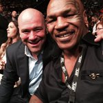 Fight night best seats in house with @danawhite @ufc http://t.co/RlQzadBkUE