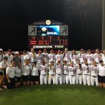Back to OKC! Alabama takes two from Oklahoma to punch its 10th ticket to the #WCWS http://t.co/a56ukEFHu0