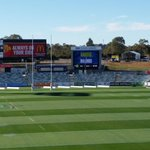 GAME DAY! Absolutely perfect @giostadium today. Come down. Gates open in 10, main game at 4:00. #Canberra http://t.co/3zjTzzMDxZ
