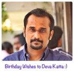 Many many happy returns of the day @devakatta garu :)