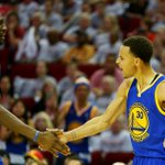 The @warriors dominate in Game 3, 115-80 behind 40 points from Stephen Curry. Golden State leads the series 3-0. http://t.co/R9KVSR8fxe