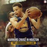 The Warriors crush the Rockets 115-80 in Houston! They take a commanding 3-0 lead! #NBAPlayoffs http://t.co/o7hTXHUdHM