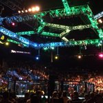 The #UFC187 octagon is set. Are you ready for @vitorbelfort & @ChrisWeidmanUFC? #letsgetit http://t.co/CbG139Zl5k