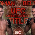 Here we go! Chris Weidman looks to defend UFC Middleweight Title against Vitor Belfort, who has won last 3 fights. http://t.co/verUgli7Uu
