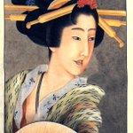 コレ誰の絵だと思います?北斎ですよ!西洋画にかぶれ始めた頃。 なんと陰影(立体感)をつけてる。しかしながらまだ日本画からは脱却できずに、 ハイブリッドな独特の奇妙さと美を生み出しております。 http://t.co/MauIeLzITQ