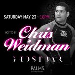 Congrats to #UFC187 champ @ChrisWeidmanUFC! Join us tonight for the ultimate victory dance party at @ghostbarLV http://t.co/UQTQAspXp1