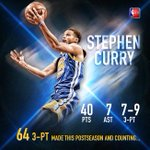 Steph Curry with the SHOT! HUGE game for @StephenCurry30 and the @warriors are just 1 win away from the #NBAFinals! http://t.co/w3GLjjwMVN