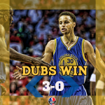@BontaHill Curry just being Curry. 40 pts, 7 assts, & 5 rebs ripping apart the Rockets defense in a blowout! http://t.co/SEKW9jUcoQ