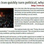 Unrests in #Iran quickly turn political, why? @WashingtonPost @Nypost @latimes @TheTimes @Guardian @ABC @NBC @CBS http://t.co/MFEib5mafk