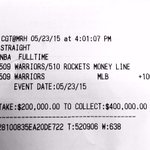 Splash for the Cash. $200,000 in 48 minutes. @StephenCurry30 @KlayThompson http://t.co/CN2cH7nSKq