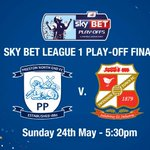 The big day is here! Whos coming to join us here at Wembley? @pnefc @Official_STFC #PlayOffFinal #DontMissIt http://t.co/3hSALR20Q3