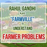 """Rahul Gandhi plays """"Farmville"""" to understand farmers problem...???????? #PappuMisguideIndia http://t.co/n12XyhSmLA"""