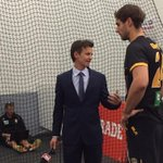 The returning @bgriffo24 chats to @FOXFOOTY - watch the interview in the #AFLPowerTigers pre-game coverage #gotiges http://t.co/c60k99zVG5
