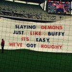 The banner. #BeMoreBulldog http://t.co/hP1Xu2ZSsx