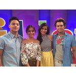 Liza and Kath , Enrique and Daniel: Kelangan same smile?aff???????? Forevermore ASAPGetTogether http://t.co/CHCnPCw17Z