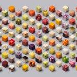 秩序から生まれる美、食べ物をテーマにしたキューブアートに注目 http://t.co/bjqqnISLbJ http://t.co/5mwvLxUma3