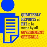 Quarterly reports of RTI to be made by all government officials. #100DaysOfGovernance http://t.co/V5sH7p1KW5