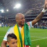 André Ayew, déçu de quitter ses coéquipiers ! http://t.co/7dOLcAHsqO