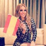 Orgullosa y feliz de haber representado a España dándolo todo!!Mi premio todo vuestro apoyo y cariño, que es mucho!!💖 http://t.co/7mCK3ORlvQ
